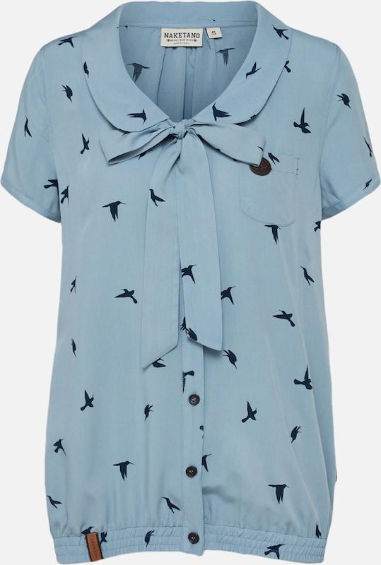 En Naketano MarineFumé 'rumvögelchen' shirt Bleu T 5LqR34Aj