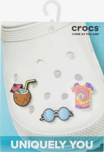 Crocs Schuhanstecker 'Jibbitz Festival' Set in blau / braun / rosa, Produktansicht