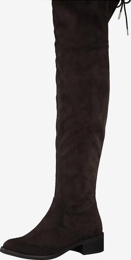 s.Oliver Overknee-Stiefel in braun, Produktansicht