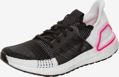 ADIDAS PERFORMANCE Chaussure de course 'Ultraboost 19' en noir / blanc, Vue avec produit