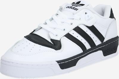 ADIDAS ORIGINALS Baskets basses 'RIVALRY LOW' en noir / blanc, Vue avec produit