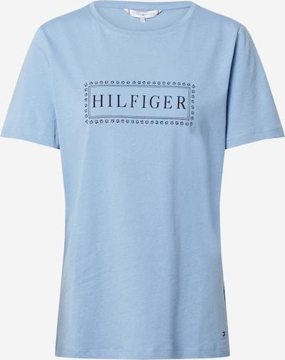 TOMMY HILFIGER Tričko 'CLEO' - světlemodrá / tmavě modrá, Produkt