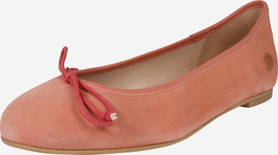 Apple of Eden Ballerines 'BRANCA' en orange, Vue avec produit