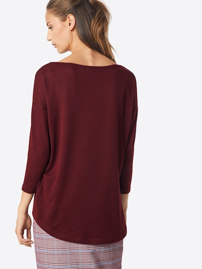 ONLY Shirt 'Elcos' in Wine red: Rear view