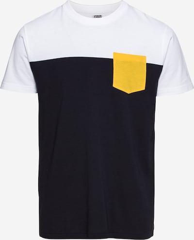 tengerészkék / sárga / fehér Urban Classics Póló, Termék nézet