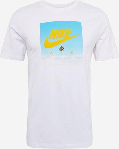 Nike Sportswear Koszulka 'PHOTO' w kolorze niebieski / żółty / białym, Podgląd produktu