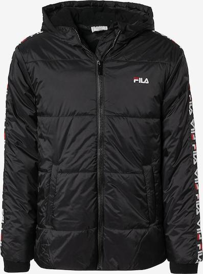 FILA Winterjacke 'TOBIN' in schwarz, Produktansicht