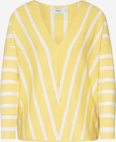 ONLY Sweater 'Aya' in Lime / White, Item view