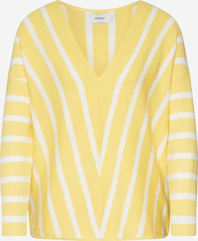 ONLY Pullover 'onlAYA' in gelb, Produktansicht