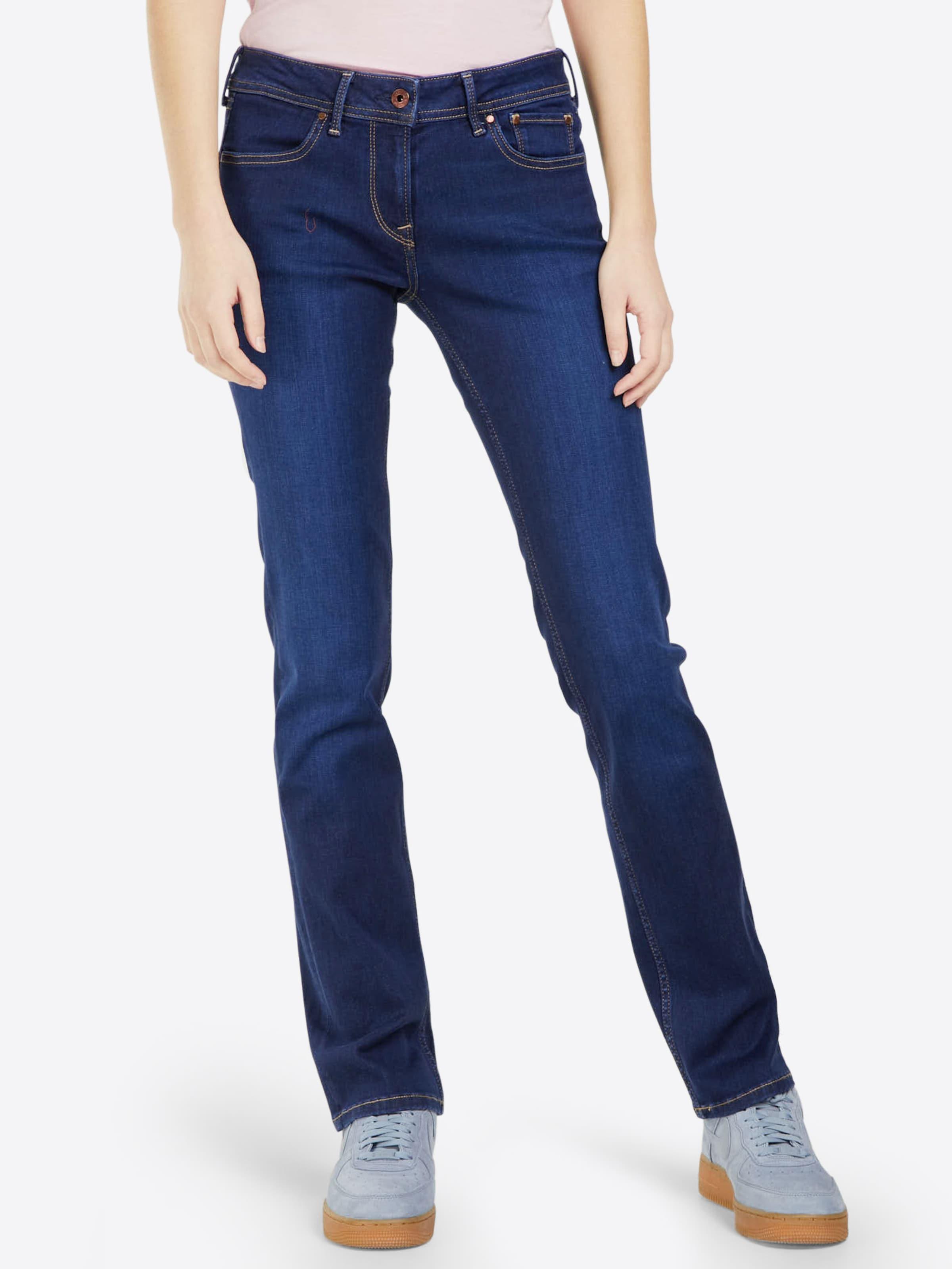 Jeans Jean Denim Pepe Bleu En 'mira' vby76Yfg