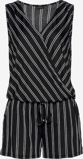 Kombinezono tipo kostiumas iš LASCANA , spalva - juoda / balta, Prekių apžvalga