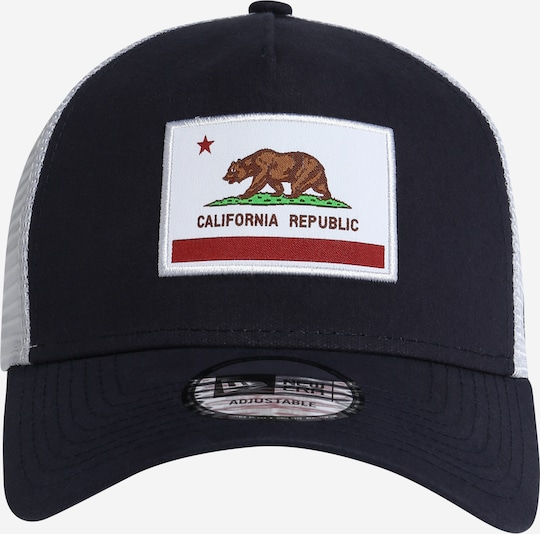 NEW ERA Pet 'US STATE' in Donkerblauw / Wit Ee6qtuDc