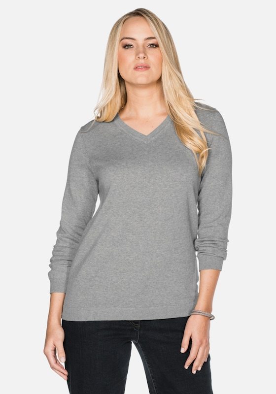 Sheego Basic Pullover