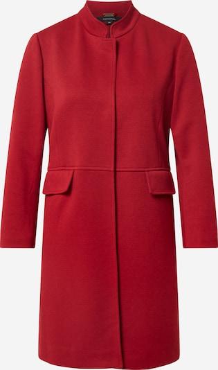 COMMA Manteau mi-saison en rouge foncé, Vue avec produit