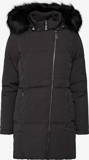 DREIMASTER Winterjas 'DREIMASTER DAMEN MANTEL' in de kleur Zwart, Productweergave
