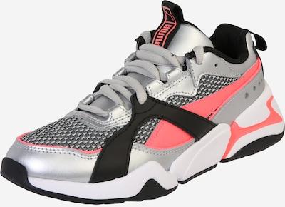 ezüstszürke / rózsaszín / fekete PUMA Rövid szárú edzőcipők 'Nova 2 Funk', Termék nézet