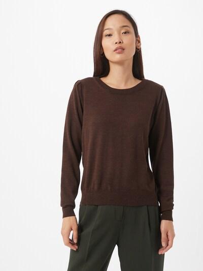 SELECTED FEMME Pullover in braun, Modelansicht