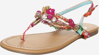 BUFFALO T-bar sandals in Dark pink, Item view