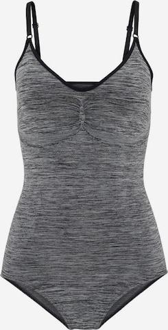 LASCANA Shaping bodysuit in Grey