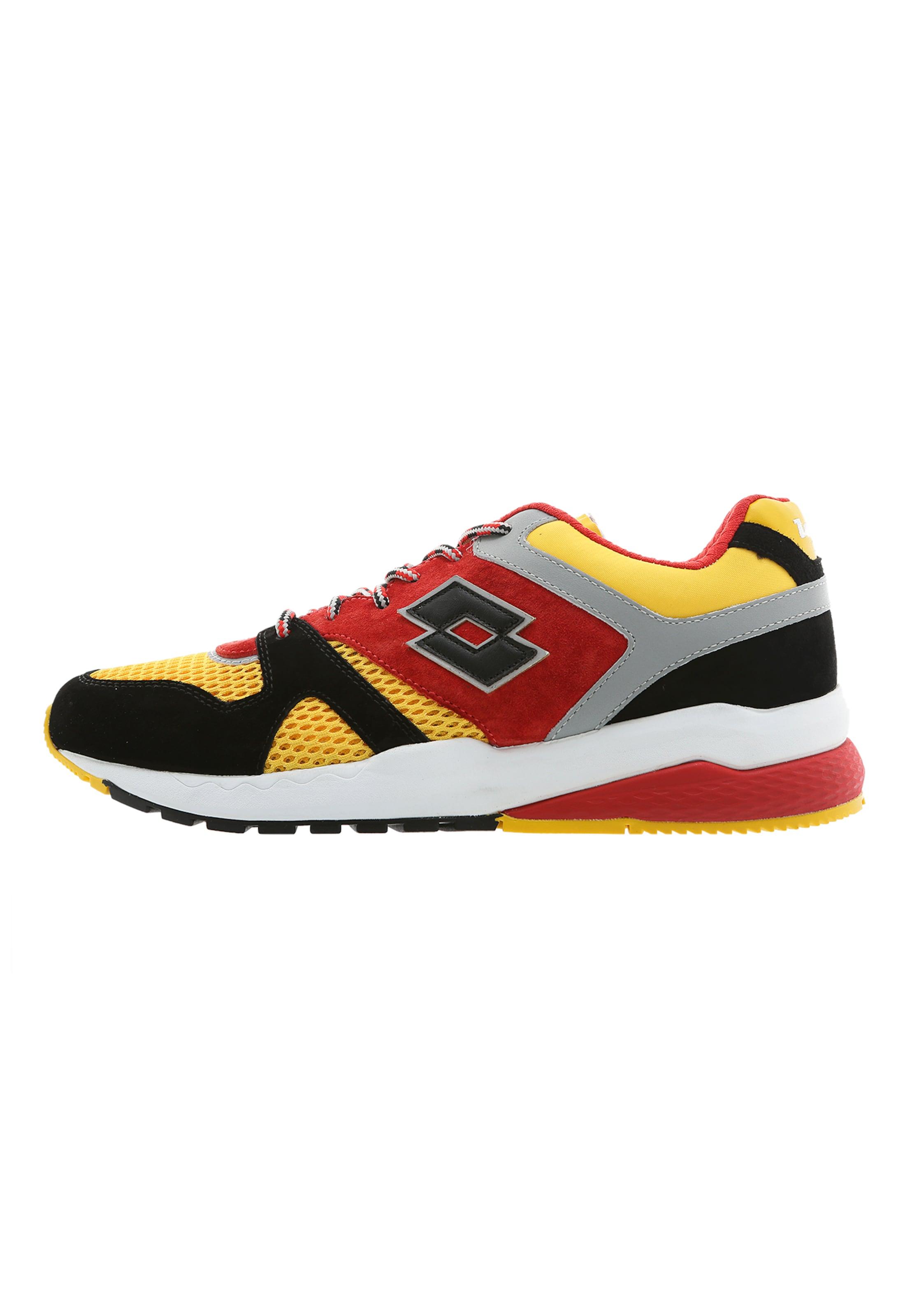 Block' Rot 'marathon In GelbGraumeliert Sneaker Lotto Leggenda Schwarz EDH29I