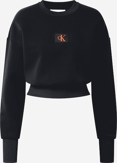 Calvin Klein Sweatshirt in hellrot / schwarz, Produktansicht