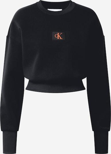 Bluză de molton Calvin Klein pe roșu deschis / negru, Vizualizare produs