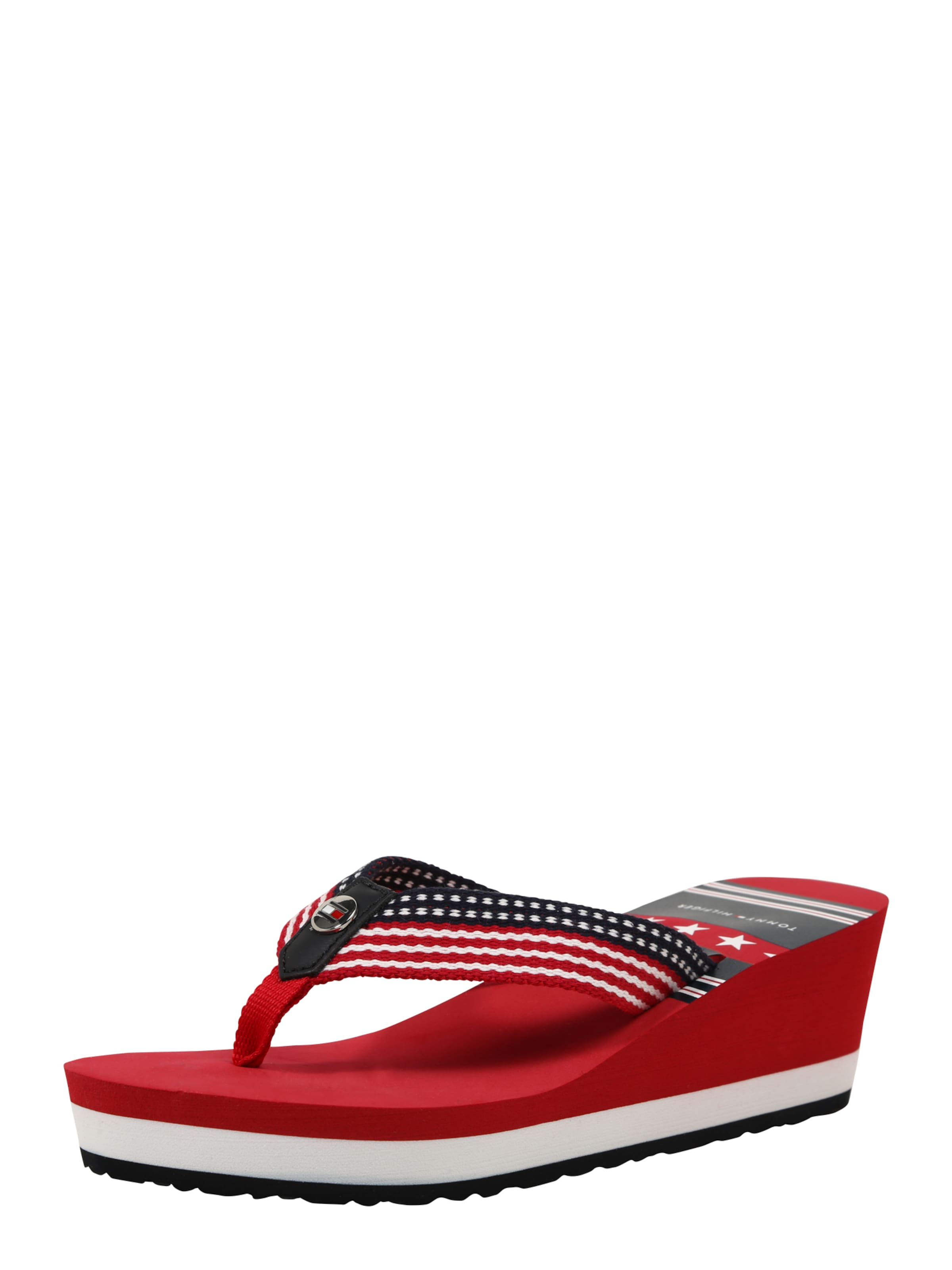 TOMMY HILFIGER Plateau-Sandale Verschleißfeste billige Schuhe