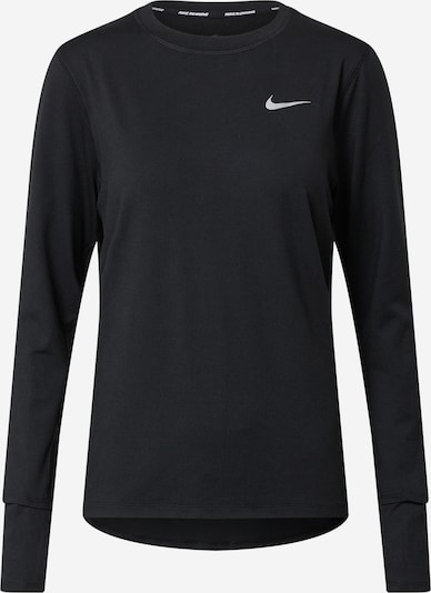 NIKE Sport-Shirt 'Element' in grau / schwarz, Produktansicht