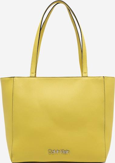 Pirkinių krepšys iš Calvin Klein , spalva - geltona, Prekių apžvalga