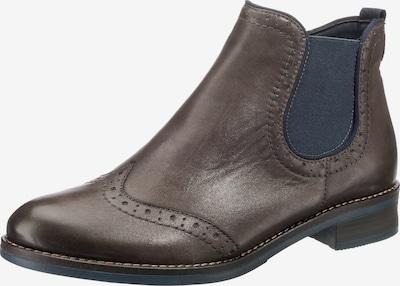 REMONTE Chelsea Boots in kastanienbraun / schwarz, Produktansicht