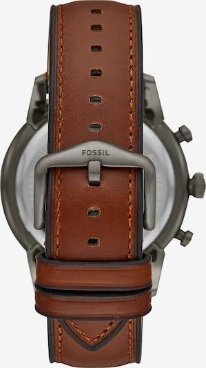 FOSSIL Chronograph in braun / silbergrau / schwarz, Produktansicht