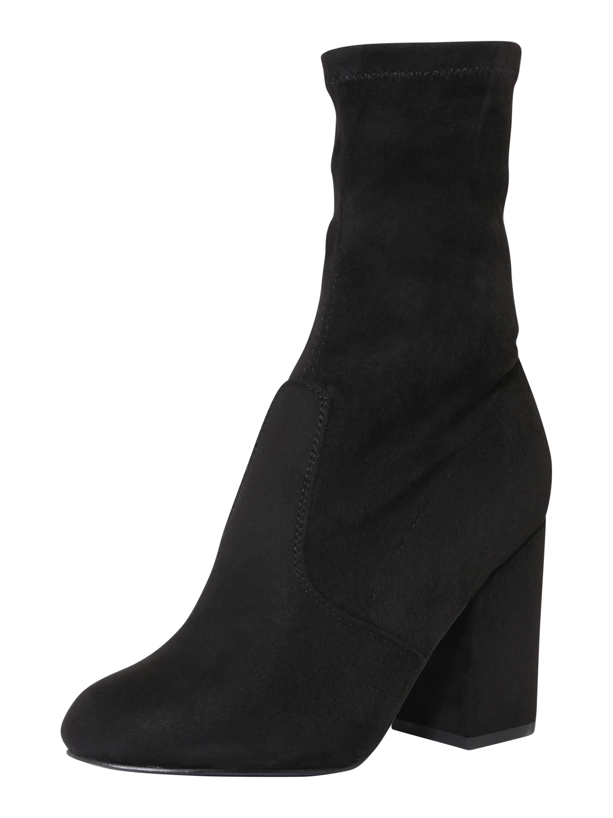 even&odd Boots mit samtigem Textil