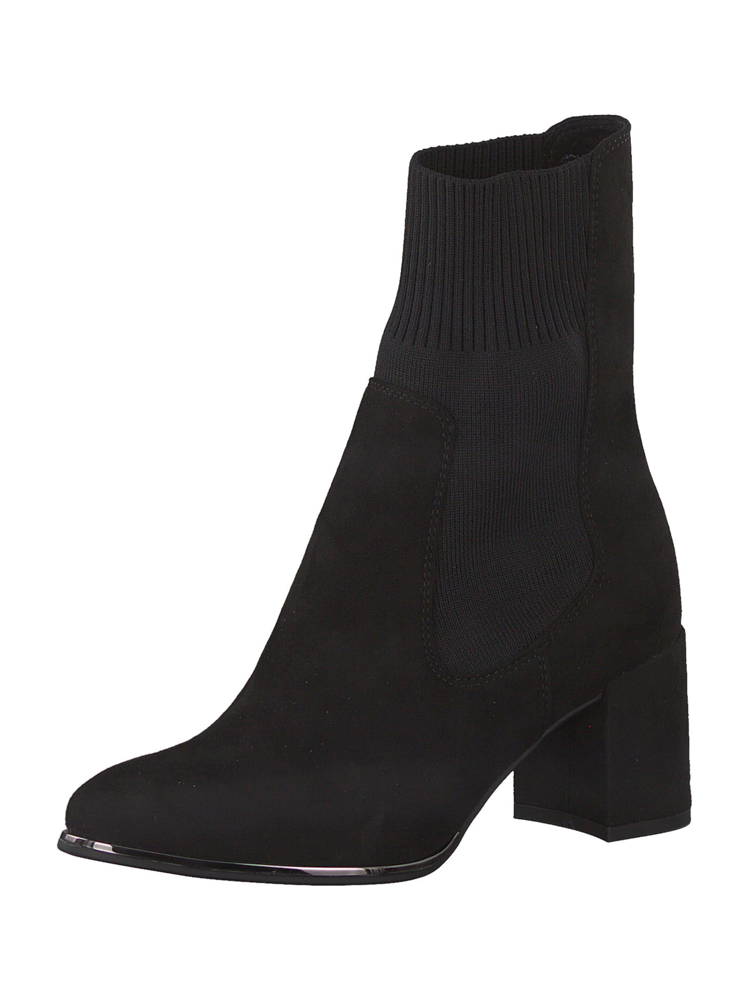 MARCO TOZZI Chelsea boots i svart
