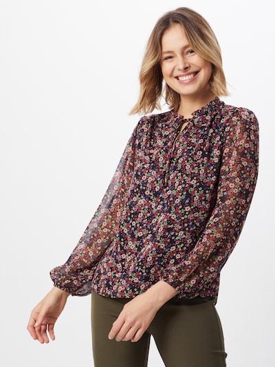 NEW LOOK Bluse 'SADIE DITSY' in rosa / schwarz, Modelansicht