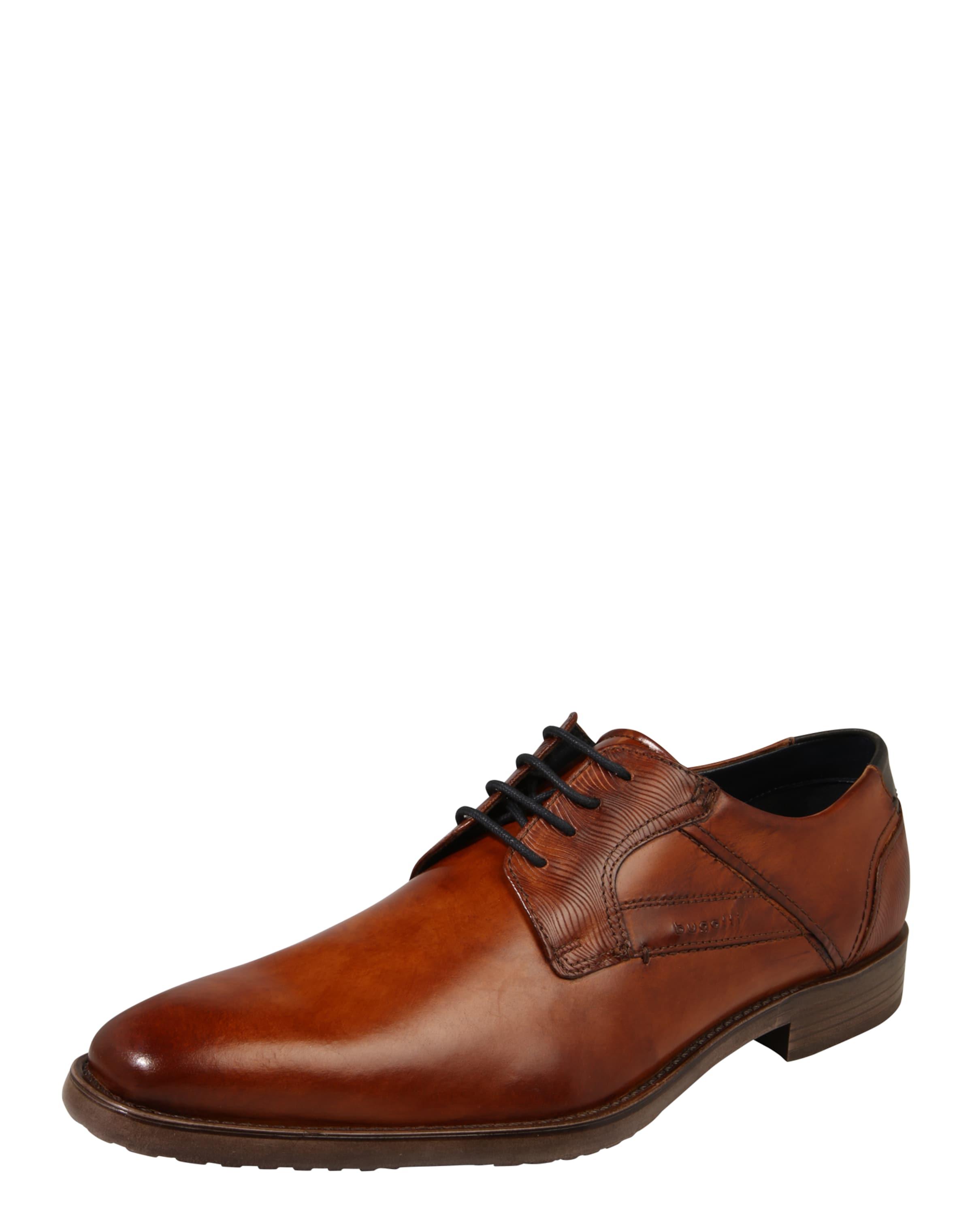 bugatti Leder-Schnürer Günstige und langlebige Schuhe
