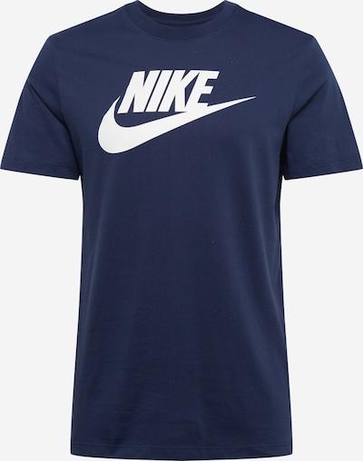 tengerészkék / fehér Nike Sportswear Póló, Termék nézet