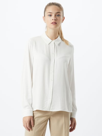 OBJECT Bluzka 'Baya' w kolorze offwhitem, Podgląd na modelu(-ce)