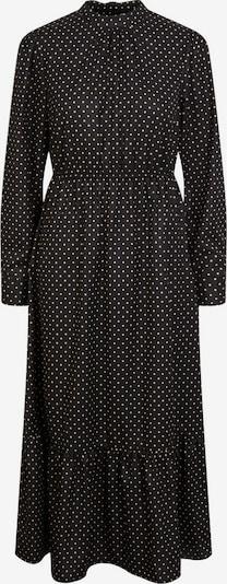 PIECES Kleid in gelb / schwarz, Produktansicht