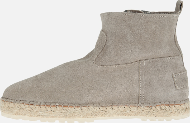 SHABBIES AMSTERDAM Espadrille ANKLE BOOT SUEDE