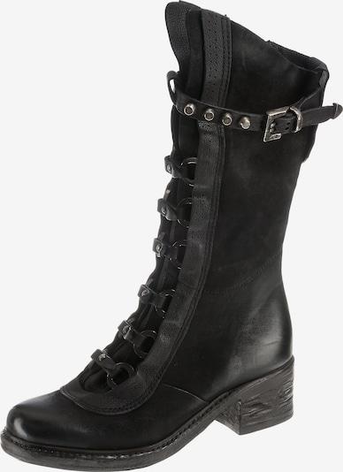 A.S.98 Stiefel in schwarz: Frontalansicht