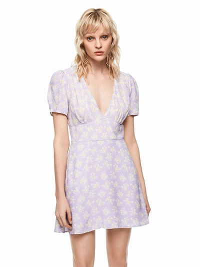 Pepe Jeans Kleid 'Dua Lipa RUTH' in lila, Modelansicht