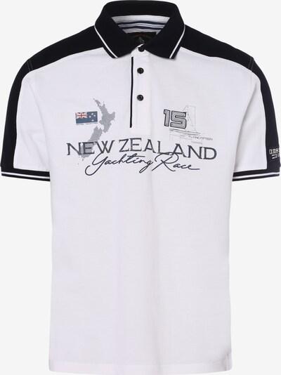 Andrew James Shirt in kobaltblau / weiß, Produktansicht