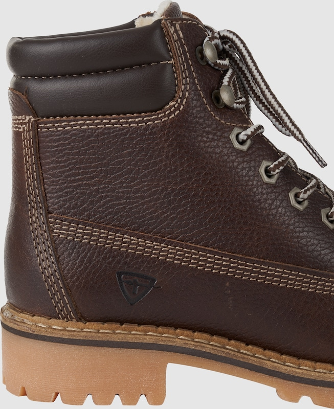 TAMARIS Leder-Schnürstiefel Verschleißfeste billige Schuhe Hohe Qualität