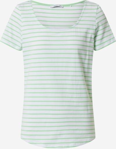 EDC BY ESPRIT Shirt in de kleur Lichtgroen / Wit, Productweergave