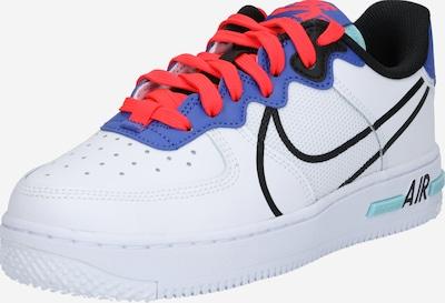 Nike Sportswear Baskets 'Air Force 1 React (GS)' en noir / blanc, Vue avec produit