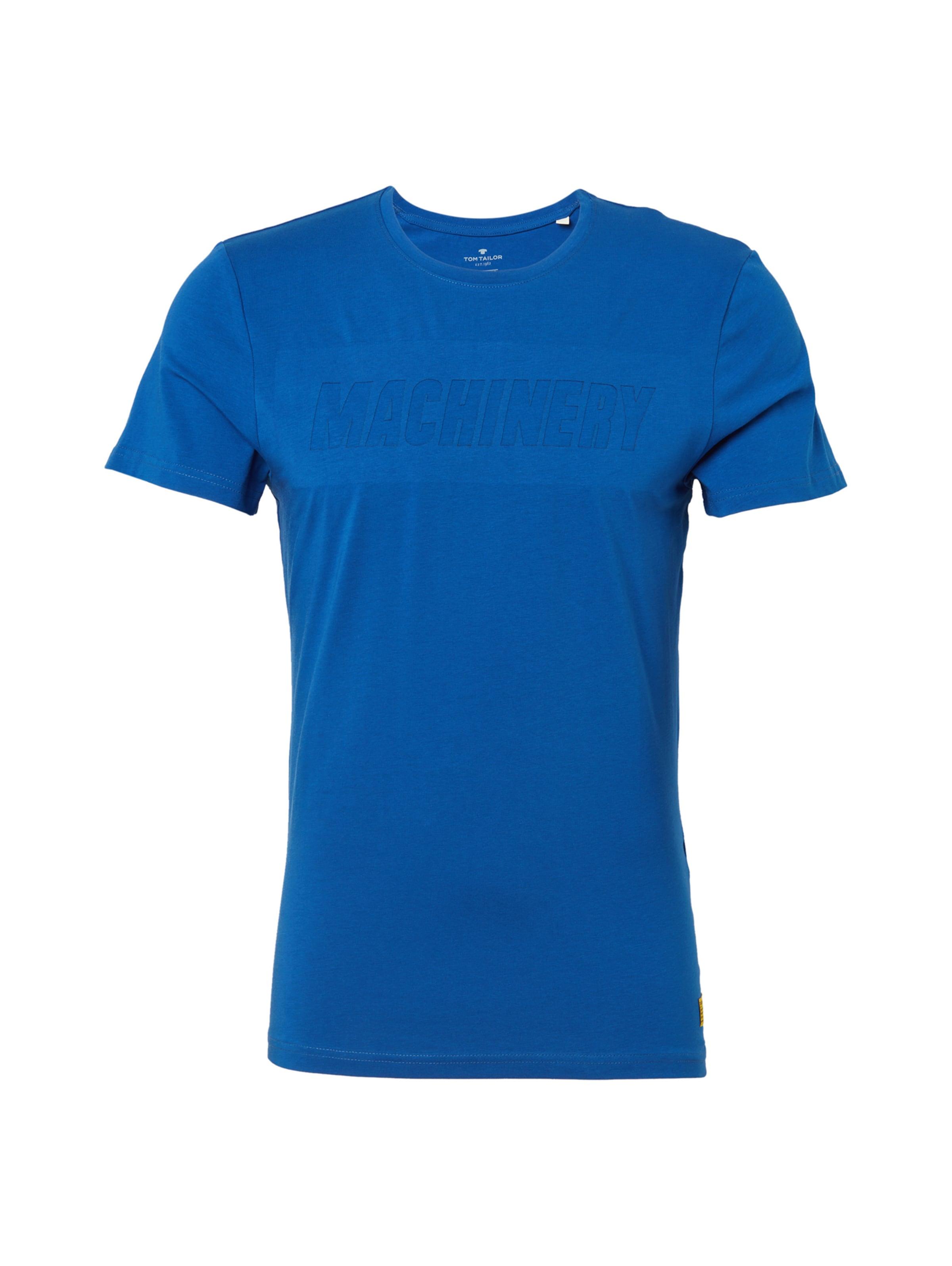 shirt Tom Tailor In T Royalblau XOPZkuiT