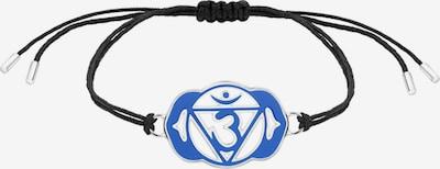 Nenalina Armband 'Chakra' in blau / schwarz, Produktansicht