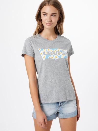 LEVI'S Shirt in hellblau / gelb / grau / weiß: Frontalansicht