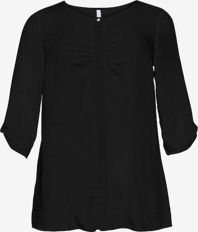 sheego style Bluse in schwarz, Produktansicht