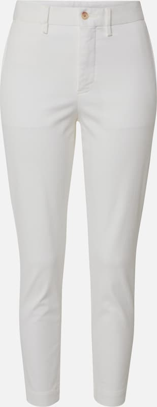 POLO RALPH LAUREN Hose in white denim, Produktansicht